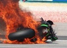 Moto GP: en 2014 on compte 118 chutes de plus qu'en 2013