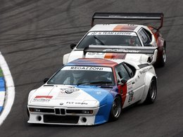 Fêtez les 40 ans de BMW M dans une M1 Procar ...