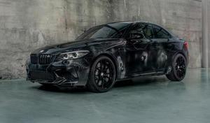 La BMW M2 Competition façon Art Car