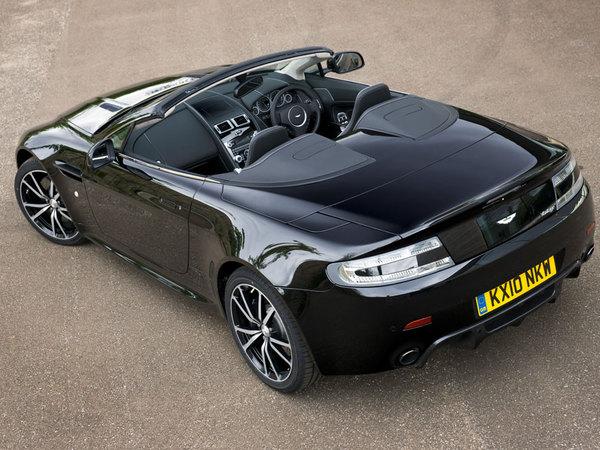 Mondial de Paris 2010 : Aston Martin Vantage N420 Roadster, sportive et aérienne