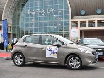 Peugeot 208 élue voiture européenne de l'année ... en Italie
