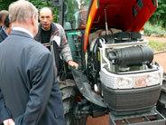 Lyon : présentation d'un tracteur aux HVP