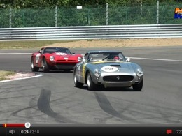 Bizzarrini 5300 GT vs Ferrari 250 GT SWB Berlinetta : duel de prestigieuses anciennes à Spa