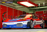 Supercar 500 Paul Ricard: le GT2 rouge foncé
