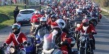 Bordeaux : le Père Noël motard a pris de l'avance