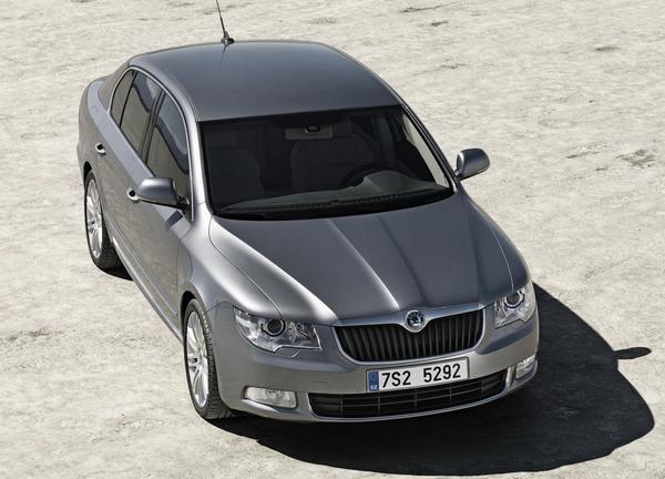 Genève 2008 : Škoda Superb de tous les côtés !