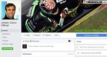 MotoGP : Johann Zarco a sa page Facebook