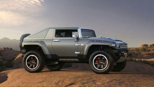 Détroit 2008 : Hummer HX Concept, le petit gros (33 photos HD)