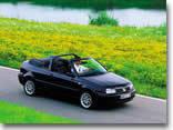 Volkswagen Golf Cabrio Mayflower : version plus