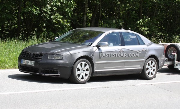 Spyshot : Volkswagen Phaeton restylée