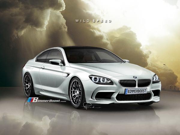 prochaine BMW M6 : comme ça ?