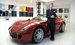 Luca di Montezemolo vend sa Ferrari 599 GTB pour la bonne cause