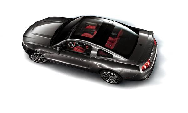 La Ford Mustang récupère son toit vitré en option