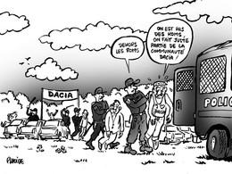 Le dessin du jour – La surprise du pique-nique Dacia