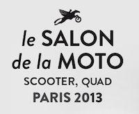 Salon de la Moto du Scooter et du Quad 2013 : rendez-vous du 3 au 8 décembre à Paris !