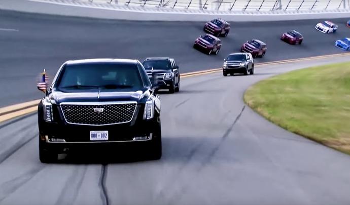 Donald Trump s'offre un tour de circuit avant le Daytona 500