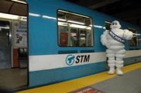 Montréal : le métro roule avec Michelin
