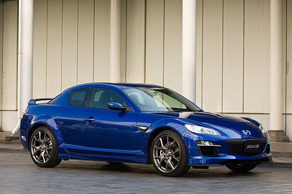 Détroit 2008 : Mazda RX8 phase 2: toutes les photos !