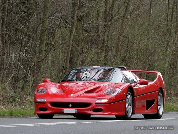 Photos du jour : Ferrari F50 (Scuderia Ferrari Club)