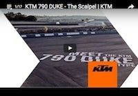 "KTM 790 Duke: ""The Scalpel"" en vidéo"