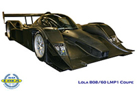 La nouvelle Lola B08/60 en LMP1 avec un moteur Aston Martin