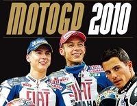 Le livre d'or du Moto GP 2010 : La couverture définitive