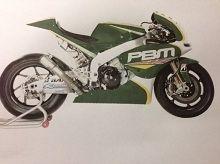 Moto GP - CRT: Le vert anglais sera la couleur du PBM en 2013