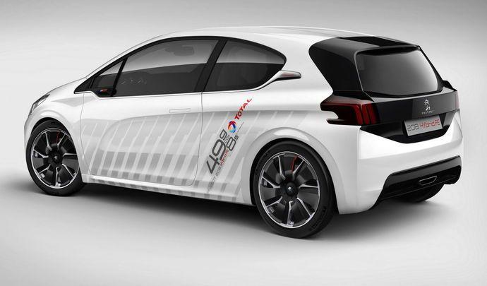 Peugeot : la 208 électrique ressemblera à la 208 classique