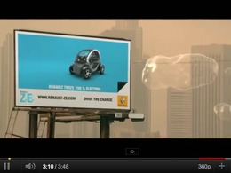 La Renault Twizy se paie une place dans le dernier clip de David Guetta