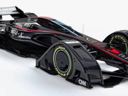 McLaren met à nu une MP-4 classée X