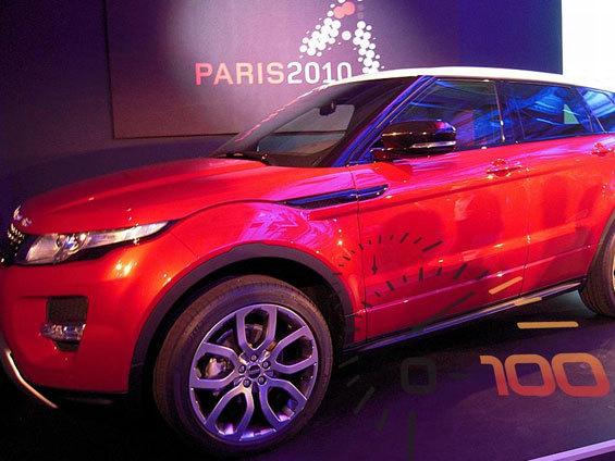 Range Rover Evoque 5 portes: rdv à Los Angeles ou à Paris?