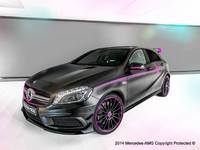 Mercedes A45 AMG Erika : girl power