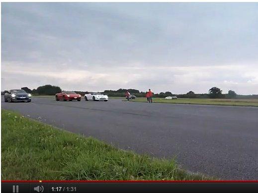 [vidéo] Ferrari 458 / Corvette ZR1 / Nissan GT-R, la drag race par Motorsport