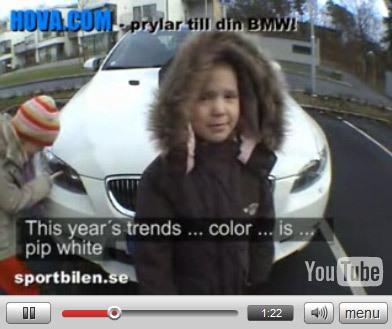 Vidéo : BMW M3, l'essai Swedish Style. Différent !