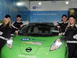 Une Nissan Leaf participe ce week-end à la dernière étape du Cannonball en Irlande
