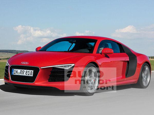 Future Audi R8 restylée : comme ça ?