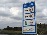 Le Danemark augmente la vitesse sur ses routes