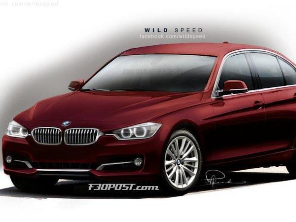 Future BMW Serie 3 : comme ça ?