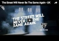 Triumph Street Triple 800 : Triumph The Street Will Never Be The Same Again (vidéo)