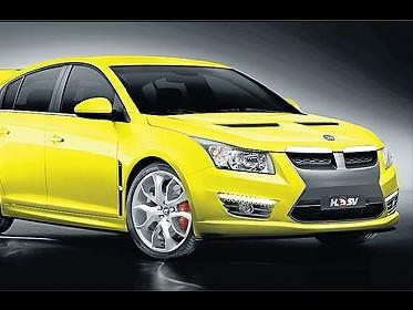 Chevrolet Cruze: une version sportive pour l'Australie?