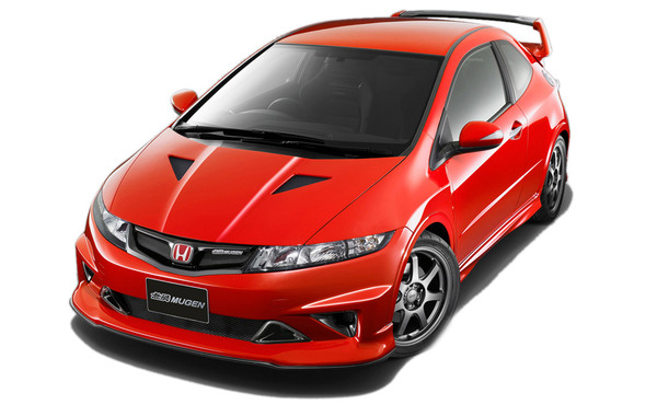 Mugen Civic Type R officielle pour l'Europe : Civic moins civile
