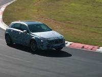 Le crossover Mercedes GLA affronte le Nürburgring