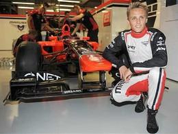 F1 : Max Chilton signe chez Marussia, plus que 2 baquets à pourvoir