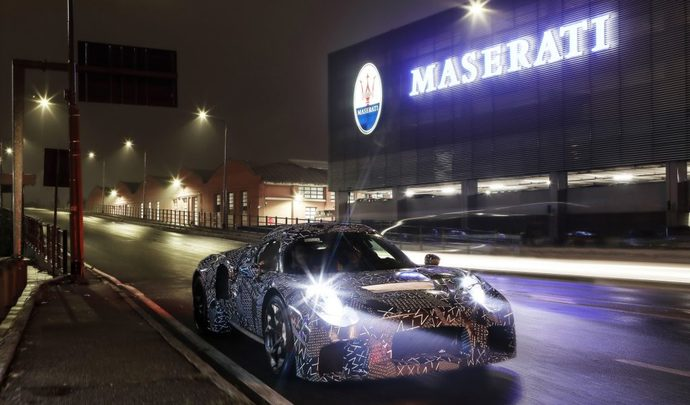 Maserati : la nouvelle supercar MC20 en approche