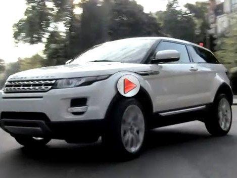Mondial de Paris 2010 : le Range Rover Evoque continue sa promo en vidéo