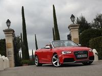Essai - Audi RS5 cabriolet  : cab canaveral