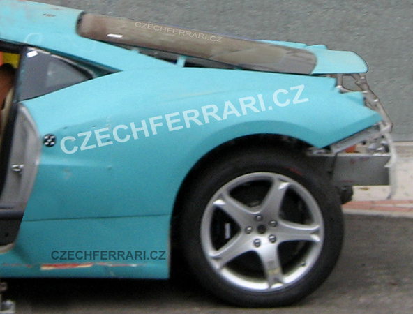 Ferrari F450 : encore des spyshots