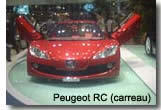 Peugeot RC (Pique) et RC (Carreau) : non à la commercialisation !