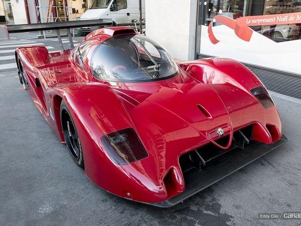Photos du jour : Alfa Romeo SE 048 SP
