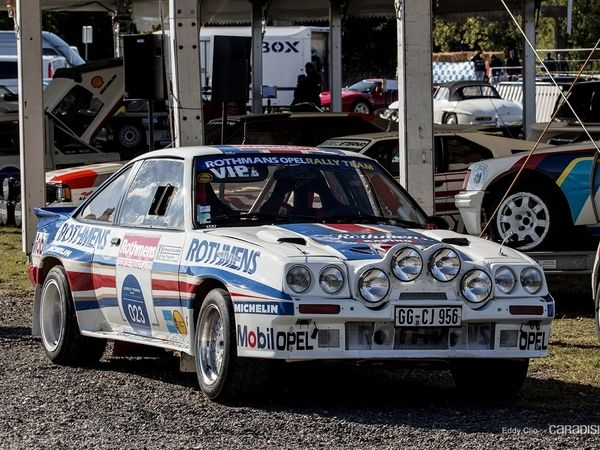 Photos du jour : Opel Manta (Les Grandes Heures de l'Automobile)